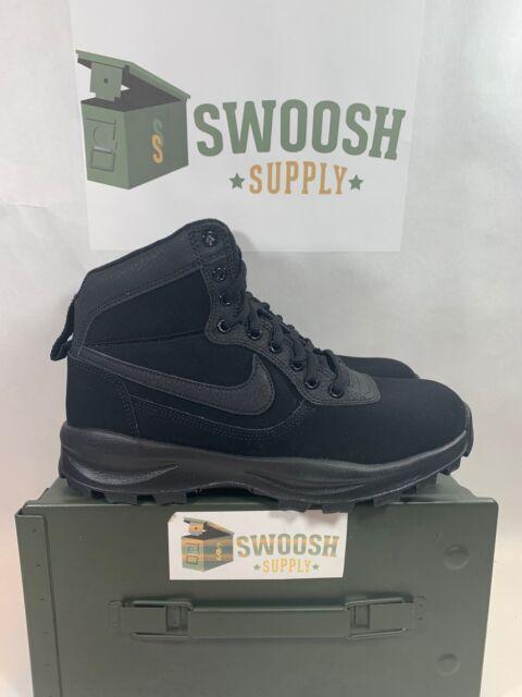 Nike Manoadome Triple Black New Mens 8.5 844358-003 New Hiking Books Work Boots