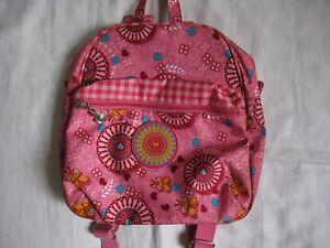 OILILY-Kinder-Maedchen-Rucksack-mit-Riemchen-25x25x10-cm-Backpack-Schultertasche