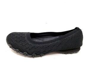 NEW-Women-039-s-SKECHERS-RELAXED-FIT-BIKERS-WITTY-KNIT-49453W-Black-187L-hm