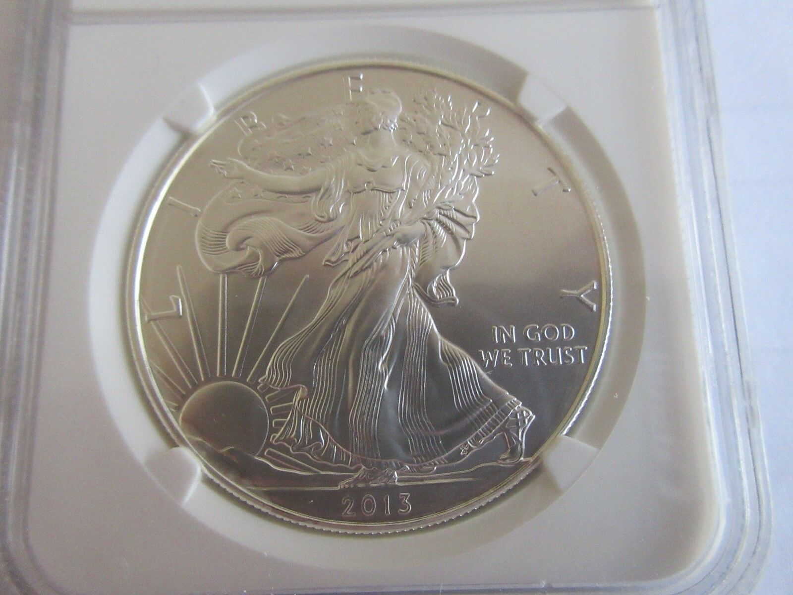 2013-W Eagle , NGC , MS 70 , First ReleasesStruck at We