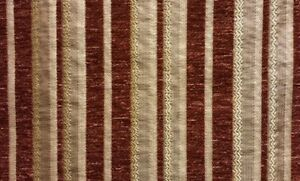 Upholstery-Chenille-Golden-Stripe-Chenille-Drapery-fabric-by-the-yard-57-034-Wide