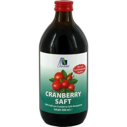 Cranberry Saft 100% Frucht, 500 ml