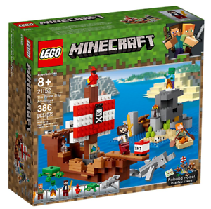 Lego Minecraft 21152 L'aventure des navires de pirates ~ new & Unopened ~ 673419304467