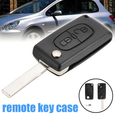 2X Remote Key Cover Shell Fit For Peugeot 307 107 207 407 Remote Key Case Fob