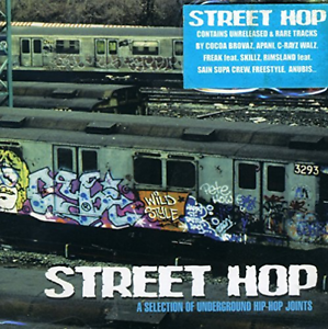 Various-Artists-Street-Hop-A-Selection-Of-Underground-Hip-Hop-Joints-CD-NEW