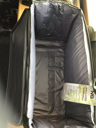 NGT X largegreen Carp Coarse Fishing Tackle Bag Holdall Qualité Sac Isotherme
