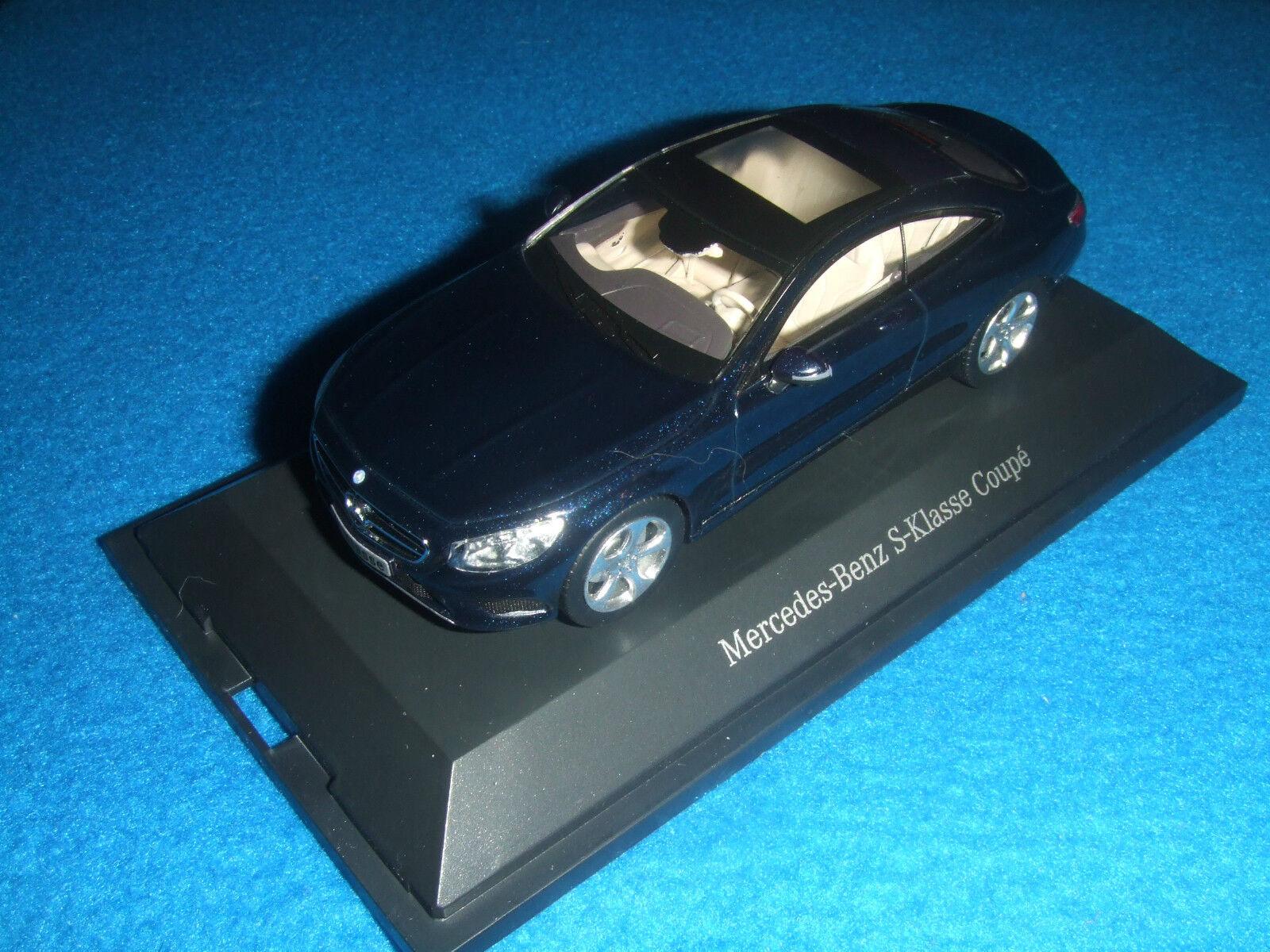 Mercedes Benz C 217 S Classe Coupé 2014 bleu 1 43 Nouveau neuf dans sa boîte