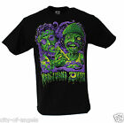 Cheech and Chong Marijuana Zombie Adult Men's Funny Humor 420 Weed Joke T Shirt
