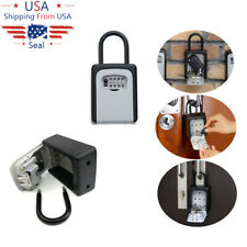 4 Digit Key Lockbox Lock Box For Realtor Real Estate Safe Storage Hook Organizer