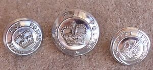 OBSOLETE-ROYAL-FIJI-POLICE-FORCE-UNIFORM-BUTTONS-KINGS-CROWN-amp-QUEENS-CROWN