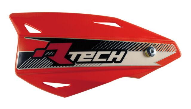 KTM 144 SX RACETECH VERTIGO MX HANDGUARDS MOTOCROSS HAND GUARDS RED