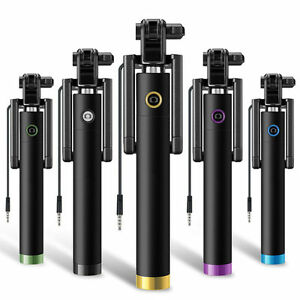 Mini-Selfie-Stick-Monopod-Wired-Foldable-Mobile-Phone-Holder-For-iOS-amp-android