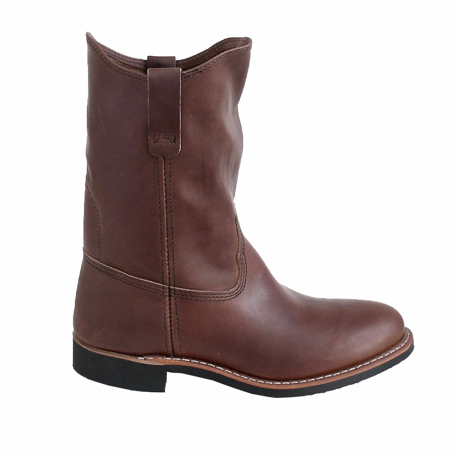 9a6b030eb68257 rot Wing Pecos 3468 Amber damen Leather Pull-on Biker Stiefel Stiefel  Stiefel bf3028