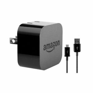 New Amazon Kindle Fire Ac Usb Power Adapter Wall Charger