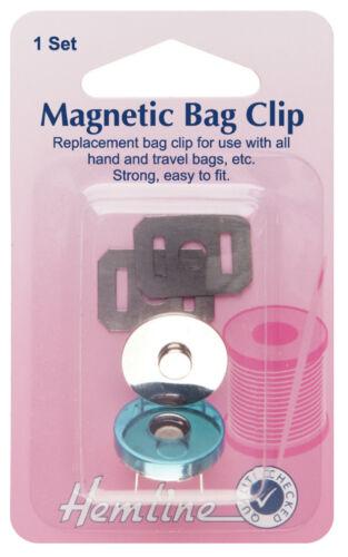 Hemline Magnetic Bag Closure