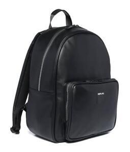 REPLAY-1981-Matt-Eco-Leather-Backpack-Black
