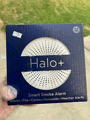 Halo Smart Labs HSR761H Smoke and CO Alarm, New in box!