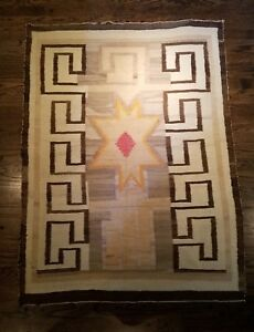 Image Is Loading Exceptional Native American Indian Navajo Rug