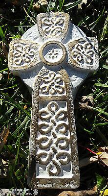 Celtic cross mold reusable plaster concrete mould