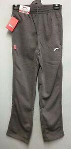 BNWT-Mens-Sz-S-Slazenger-Charcoal-Jog-Pants-Track-Pants-Elastic-Waist