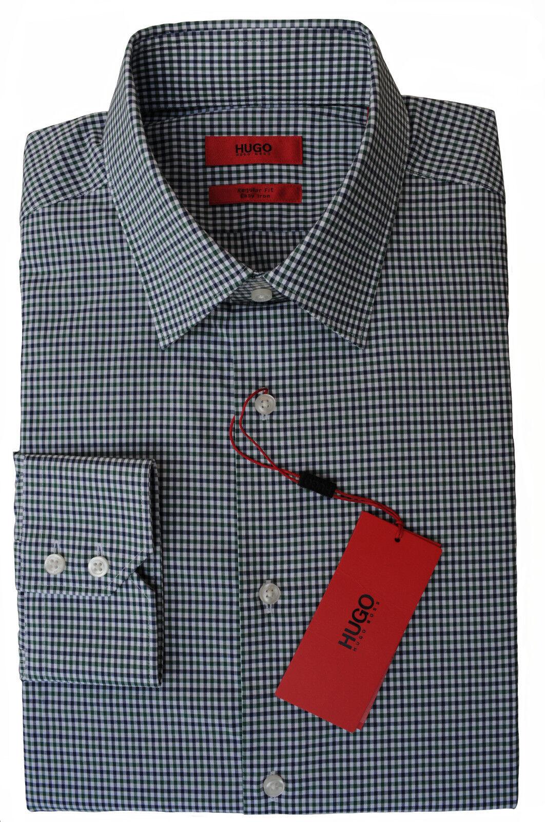 9b3f80196 40 HUGO BOSS C-ENZO REGULAR FIT IRON zu Jeans 50368823 HEMD EASY  nynjsy19991-Formal Shirts
