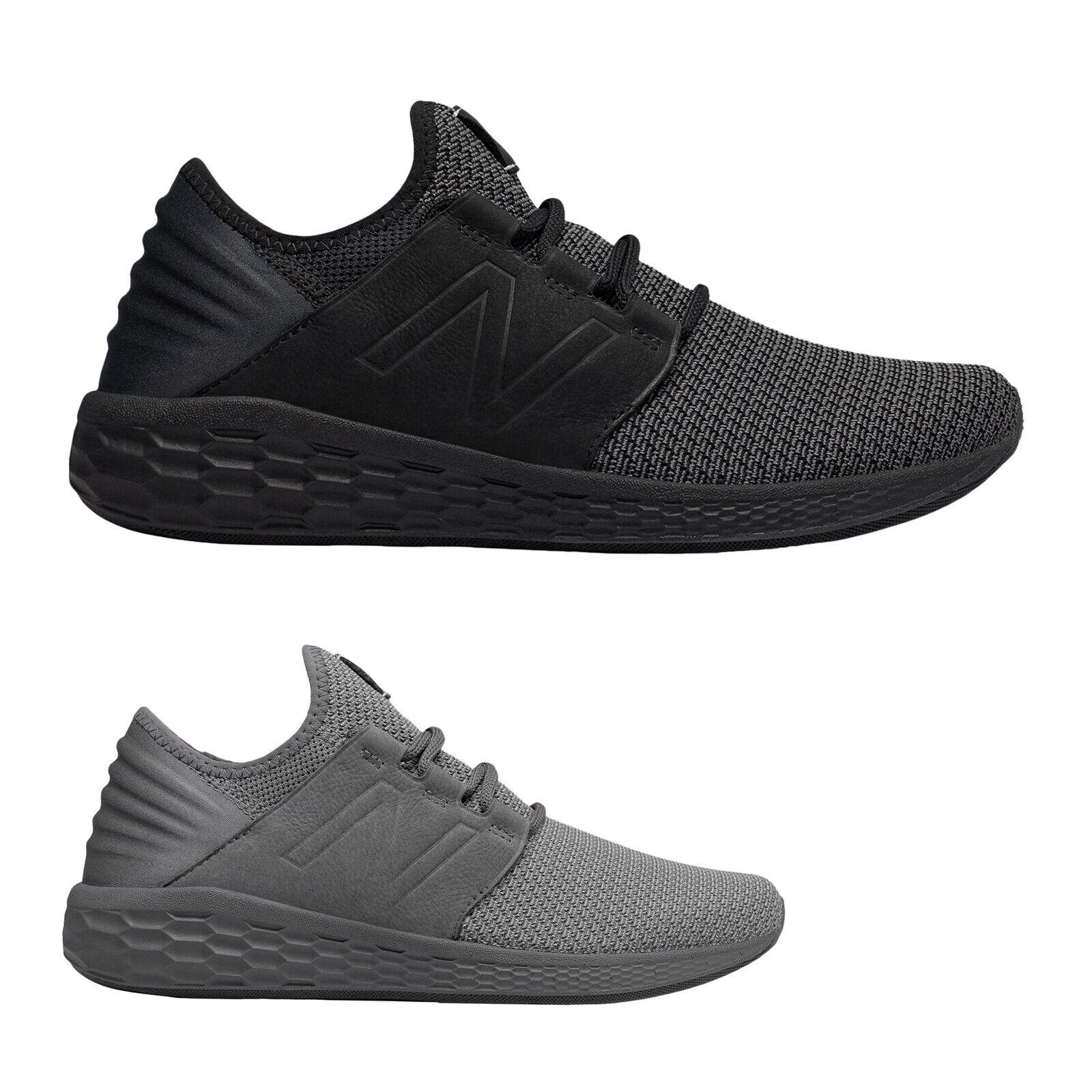 New Balance MCRUZ Textile Low-Top Slip-On Running Mens Trainers