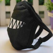 Popular Cartoon Funny Teeth Black Cotton Black Mouth Mask Unisex Random Pattern