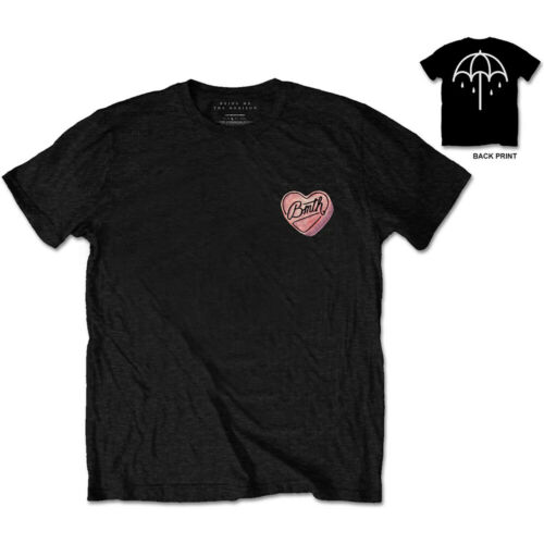 Bring Me The Horizon Hearted Candy Officiel Tee T-shirt Homme Unisexe