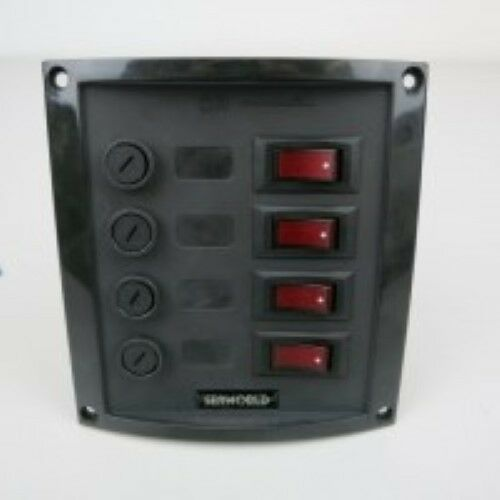 greenical 4G Switch Panel Moulded 12v