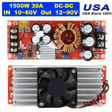 1500w 30a Dc Dc Boost Converter 10 60v To 12 90v Step Up Module Power Supply Usa