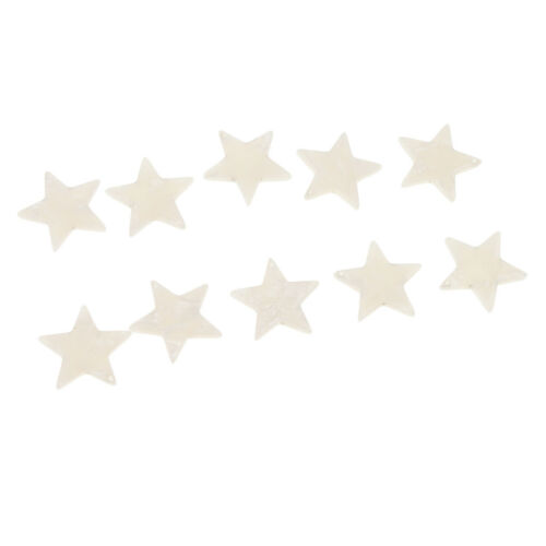 10Pcs 21x21mm Acetate sheet Stars Charms Earring Bracelet for DIY Crafting