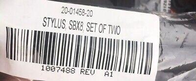 NEW SMART TECH BOARD SET TWO SMART PEN STYLUS SBX8 /& FRU-NIB-SBX8 NIBS FREE SHIP