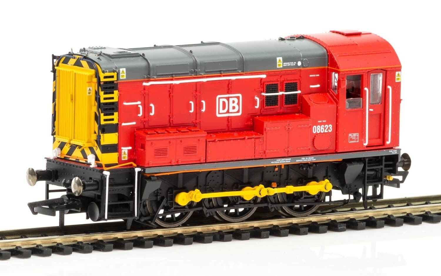 Hornby R3504TTS DB Schenker Class 08 0-6-0 Diesel Electric TTS & DCC Fitted NEW