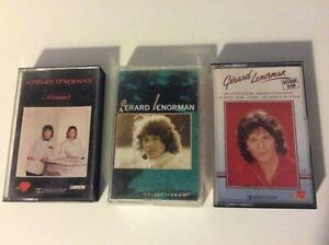 LOT-K7-audio-034-GERARD-LENORMAN-034-d-039-amour-collection-d-039-or-disque-d-039-or