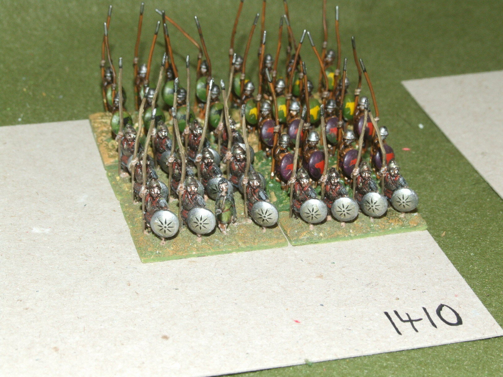 15mm classical   macedonian - Foot Companions 40 Infantry - inf (A1410)