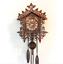 Vintage-Wood-Cuckoo-Clock-Wall-Room-Decor-Cartoon-Forest-House-Swing-Clock thumbnail 3