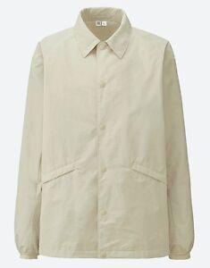 db47de22 LEMAIRE 'U' x UNIQLO 'Coach' Coach's Jacket Men's Small BEIGE **NWT ...