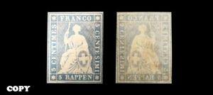 Helvetia-1855-5r-Blue-Error-Color-29000-Replica