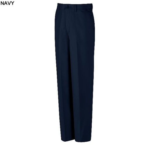Red Kap Men/'s Pants Red-E-Prest Irregular Industrial Work Uniform Navy PT10NV