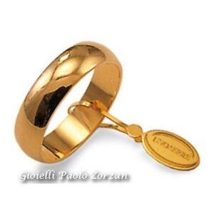 Fede-Matrimoniale-UNOAERRE-Mantovana-6-grammi-Oro-giallo-Mod-60-AFN-7-col-01
