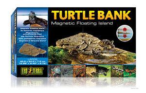 Île des tortues de baignade de la réserve de tortues Exo Terra 40,6 x 24,0 7,0 cm