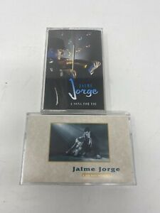 JAIME JORGE I AM NOT WORTHY A SONG FOR YOU CASSETTES LOT - RARE!