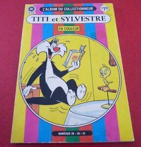 French-Heritage-L-039-album-du-Collectionneur-Titi-et-Sylvestre-Nos-29-30-31