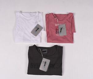 Lot De 3 X Gymshark Femme Gym Entraînement T-Shirt TAILLE XS,Neuf
