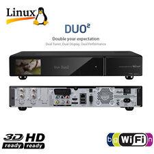 ►VU+ DUO² 2xDVB-C  / T Twin Full HD Hybrid Kabel Receiver USB PVR VU Plus DUO2