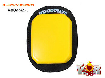 Brand New SAVE $$$ White Pair Klucky Puck Knee Sliders by Woodcraft