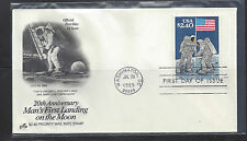 #2419 Man on Moon Priority Mail First Day Cover