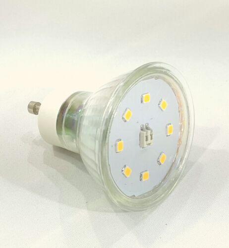 230V GU10 Bad Einbauleuchte 2-Einbautiefen Spot AQUA IP65 LED 5W Rostfrei 5 Watt
