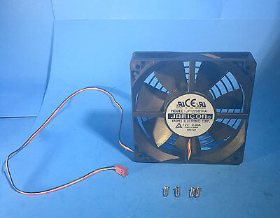 NEW Jamicon 120mm Auto-Restart PC Case Dual-Ball Bearing Fan, 12V DC 3pin Power