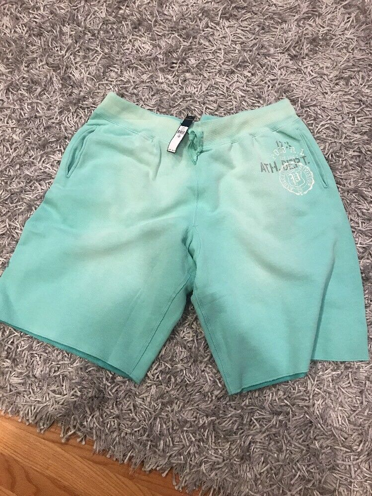New Ralph Lauren Polo  Aqua Sweat Shorts  3LT